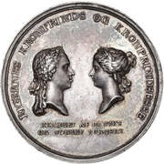 Medal - Birth of Princess Maria Louise – obverse