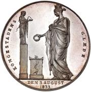 Medal - Frederik VI (Return to Copenhagen) – reverse