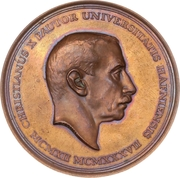 Medal - Silver Jubilee of the Reign of Christian X – obverse