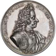 Medal - Christian V (Death medal; type 1) – obverse