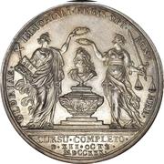 Medal - Christian V (Death medal; type 1) – reverse