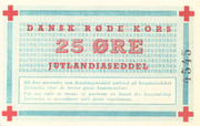 25 Øre (Danish Red Cross; Hospital Ship MS Jutlandia) – obverse