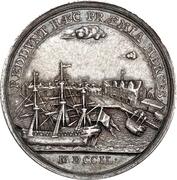 Medal - Frederik V (House of Oldenburg Anniversary; Royal Trading Co.) – reverse
