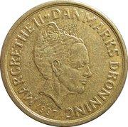 10 Kroner - Margrethe II (3rd portrait) -  obverse
