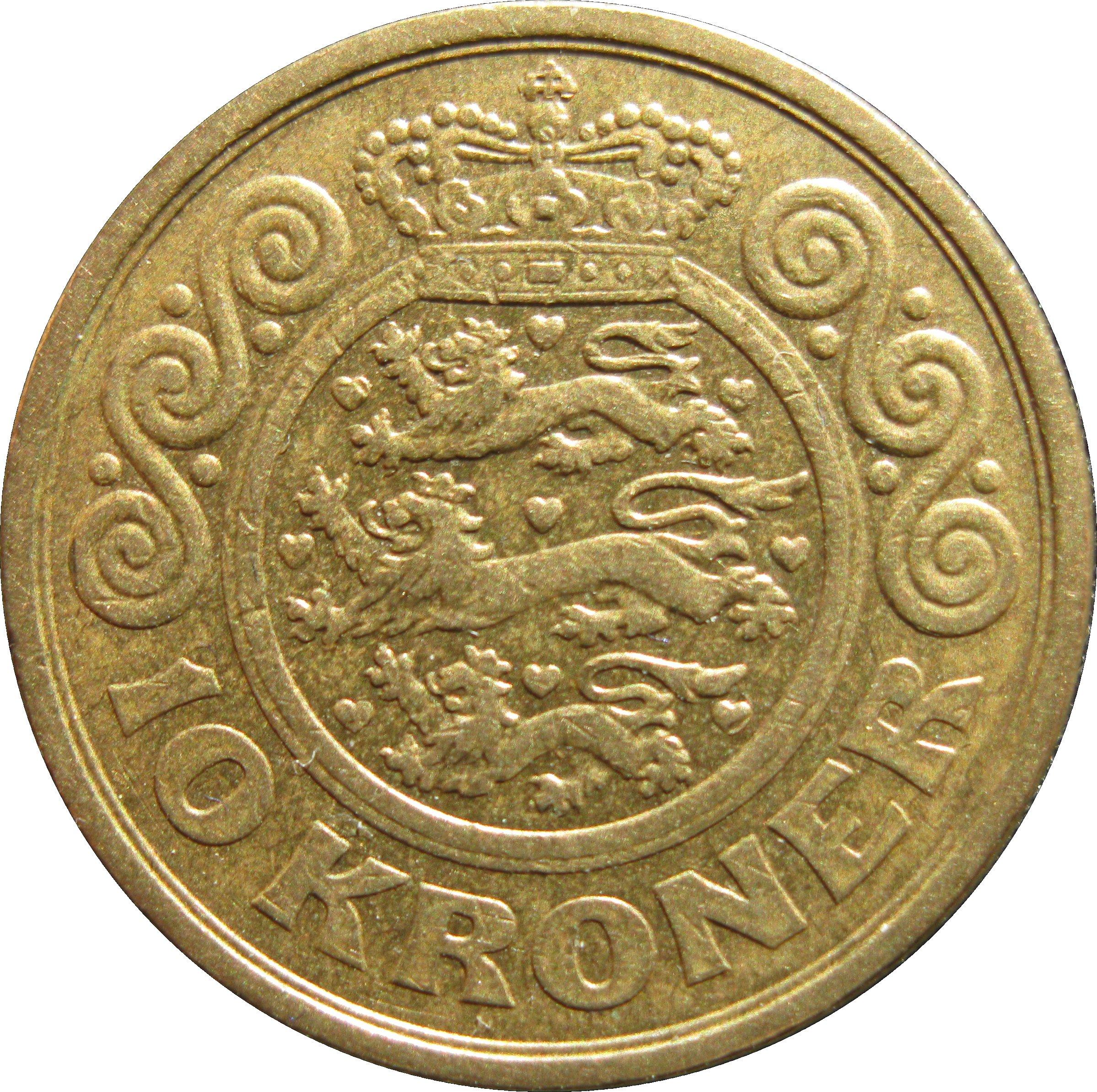 10 kr mynt