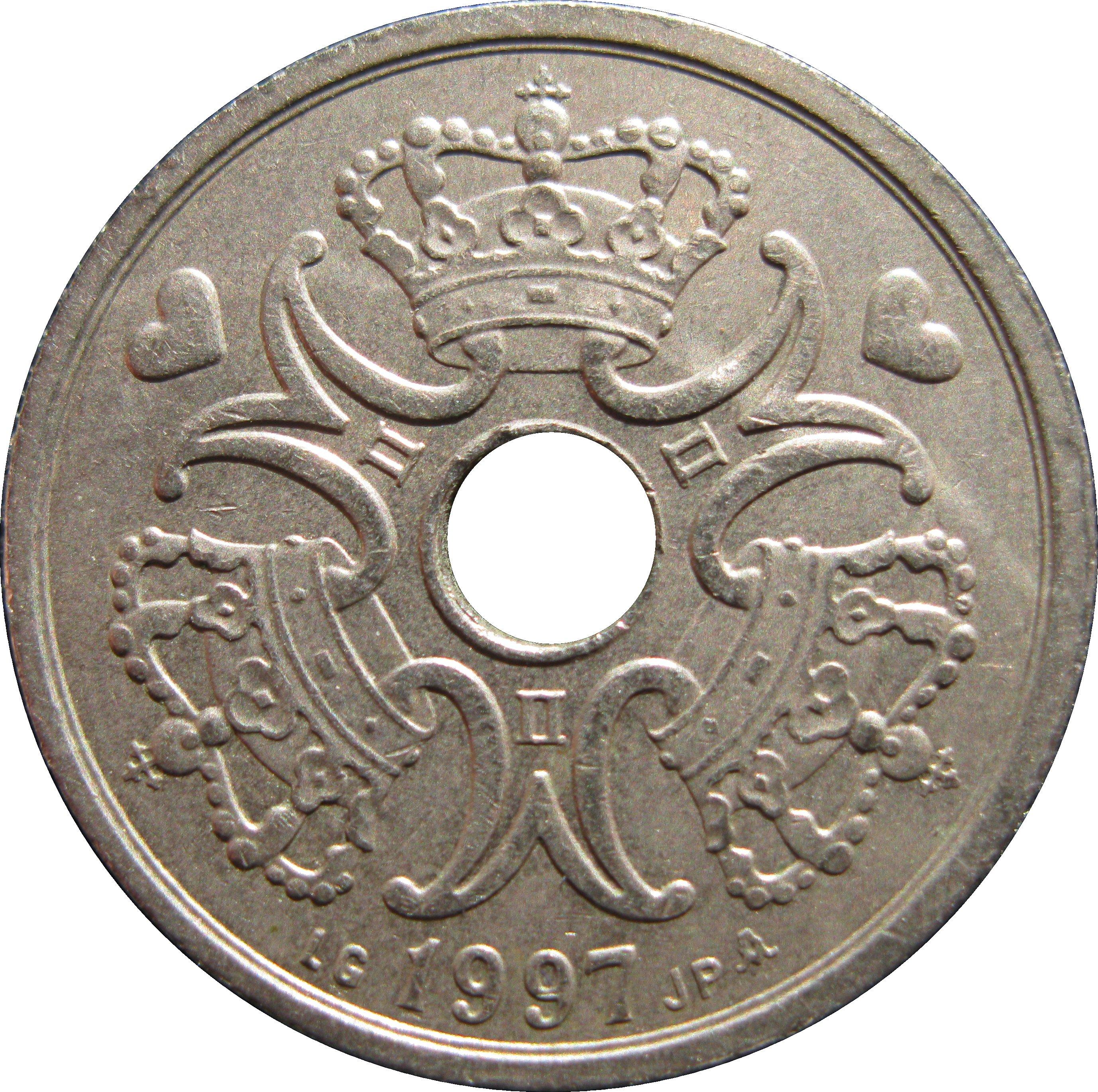 2 Kroner Margrethe Ii
