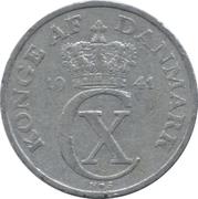5 Øre - Christian X (German Occupation) -  obverse