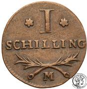 1 Schilling - Marshal Lefebvre (French Occupation) – reverse