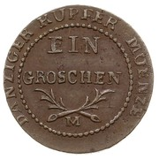 1 Grosz - Friedrich Wilhelm III – reverse