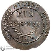 1 Grosz - Friedrich Wilhelm III (Ag) – reverse