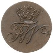 1 Schilling - Friedrich Wilhelm III – obverse