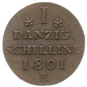 1 Schilling - Friedrich Wilhelm III – reverse