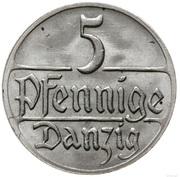 5 Pfennige – reverse
