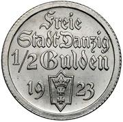 ½ Gulden – obverse