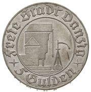 5 Gulden (Grain Elevator) – obverse