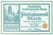 50,000 Mark – obverse
