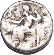 1 Drachma - Imitating Alexander III - 300-100 BC – reverse
