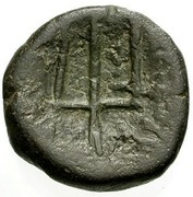 AE (Serdi Celts, Moesia) – reverse