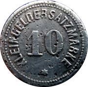 10 Pfennig - Darmstadt – reverse