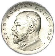 5 Mark (Robert Koch) – reverse