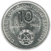10 Mark (Ernst Thälmann) – obverse