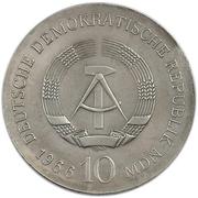 10 Mark (Karl Friedrich Schinkel) – obverse