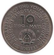 10 Mark (International Labour Day) – obverse