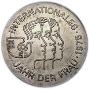 5 Mark (International Women's Year) – reverse
