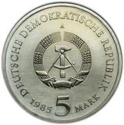 5 Mark (Dresden Zwinger) – obverse