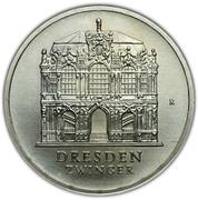 5 Mark (Dresden Zwinger) – reverse