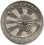 5 Mark (Johannes Kepler) – reverse