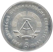 5 Mark (Otto Lilienthal) – obverse