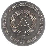 5 Mark (Friedrich Ludwig Jahn) – obverse