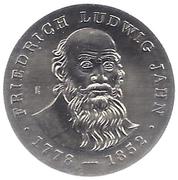 5 Mark (Friedrich Ludwig Jahn) – reverse