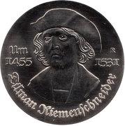 5 Mark (Tilman Riemenschneider) – reverse