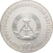 10 Mark (Caspar David Friedrich) – obverse