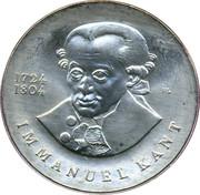 20 Mark (Immanuel Kant) – reverse