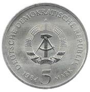 5 Mark (Leipzig Old City Hall) – obverse