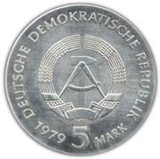5 Mark (Albert Einstein) – obverse