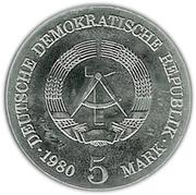 5 Mark (Adolph von Menzel) – obverse