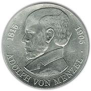 5 Mark (Adolph von Menzel) – reverse