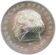 10 Mark (Ludwig van Beethoven) – reverse