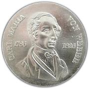 10 Mark (Carl Maria von Weber) – reverse