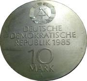 10 Mark (Semperoper Dresden) – obverse