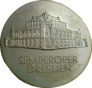10 Mark (Semperoper Dresden) – reverse