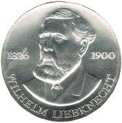 20 Mark (Wilhelm Liebknecht) – reverse