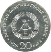 20 Mark (Wilhelm Liebknecht) – obverse