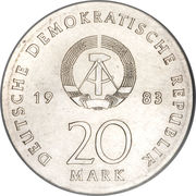 20 Mark (Martin Luther) – obverse