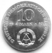 10 Mark (Gerhard J. D. von Scharnhorst) – obverse