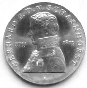 10 Mark (Gerhard J. D. von Scharnhorst) – reverse
